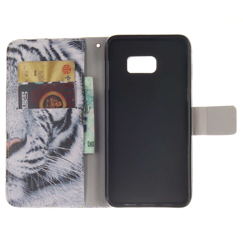 GOCDLJ Schutzh/ülle f/ür Samsung Galaxy S5 Mini PU Leder Flip Cover Tasche Ledertasche Handytasche H/ülle Handyh/ülle Case Etui Schale Wallet St/änderfunktion Shell Design L/öwe