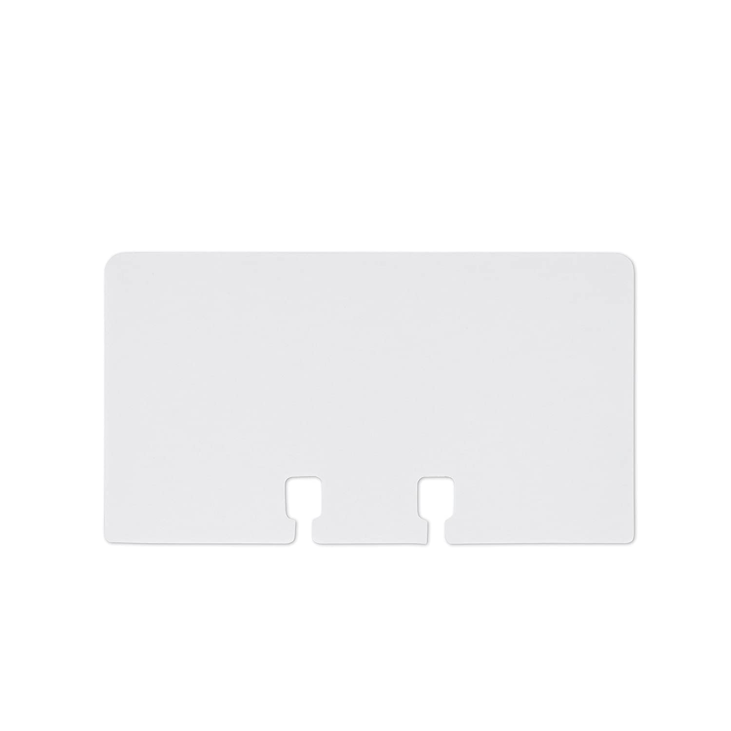 Amazon.com : Rolodex Business Card Tray Refill Sleeves, Holds 2 of ...