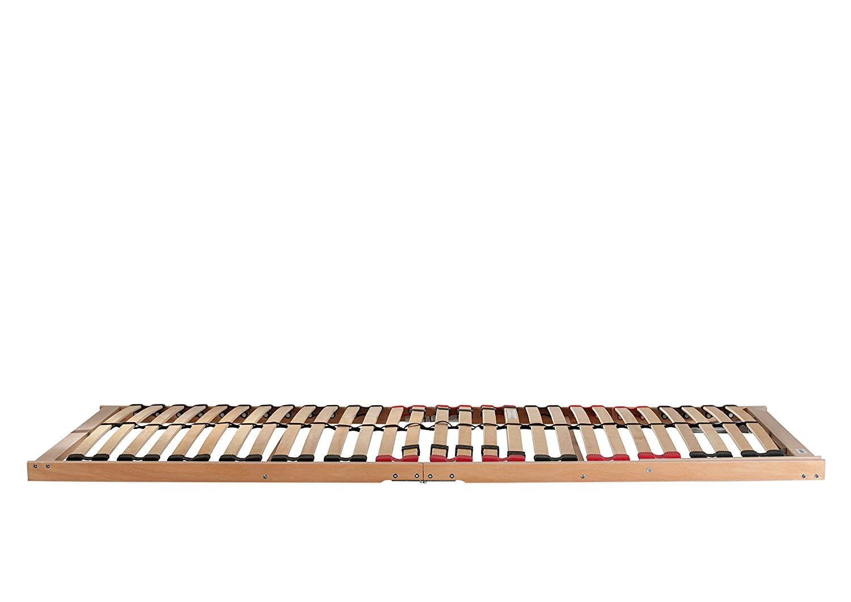 Traumnacht 5-Zonen-Lattenrost, 90 x 200 cm, braun