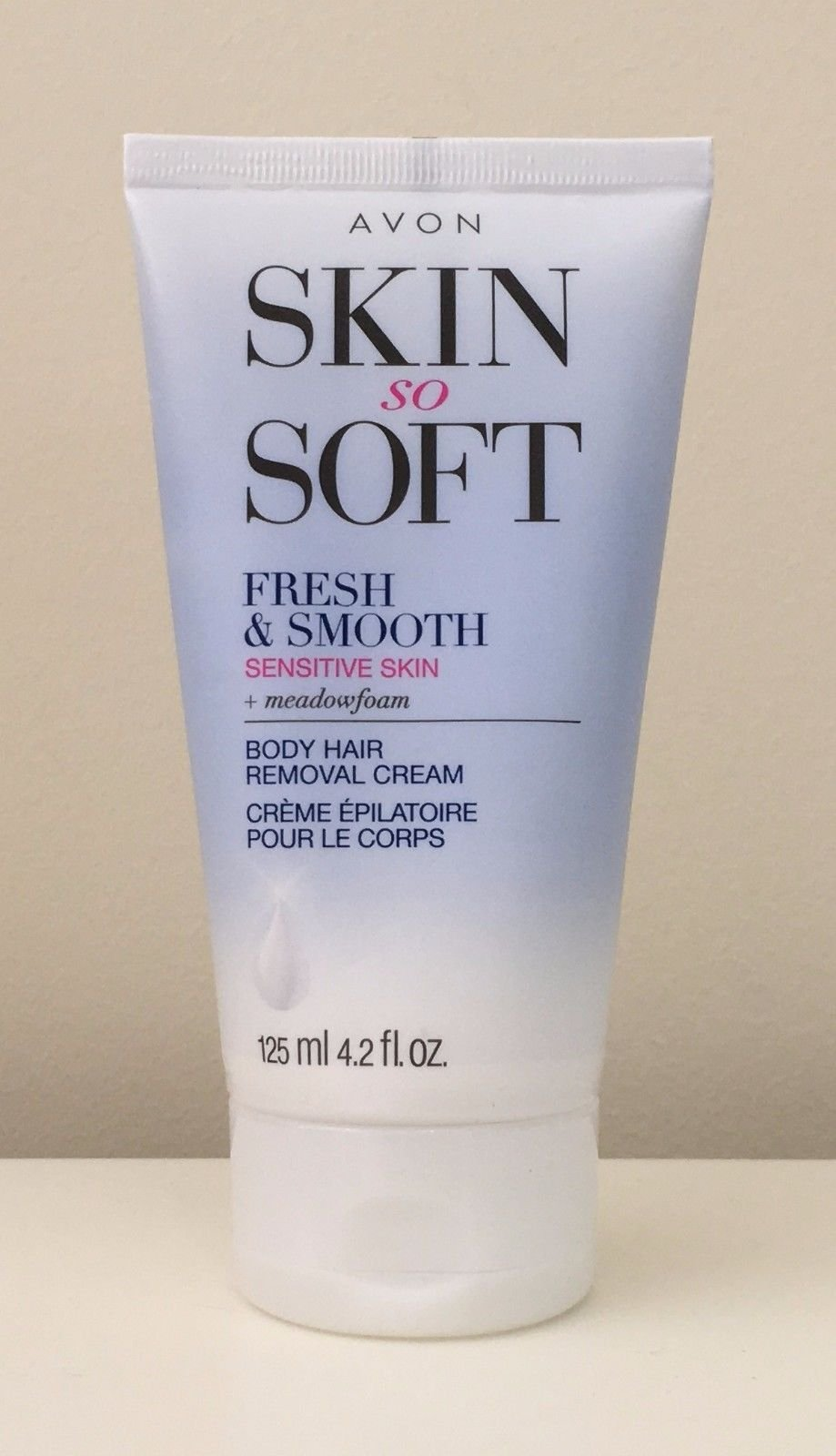 AVON Fresh & Smooth Hair Removal Cream Sensitive Skin 4.2 ...