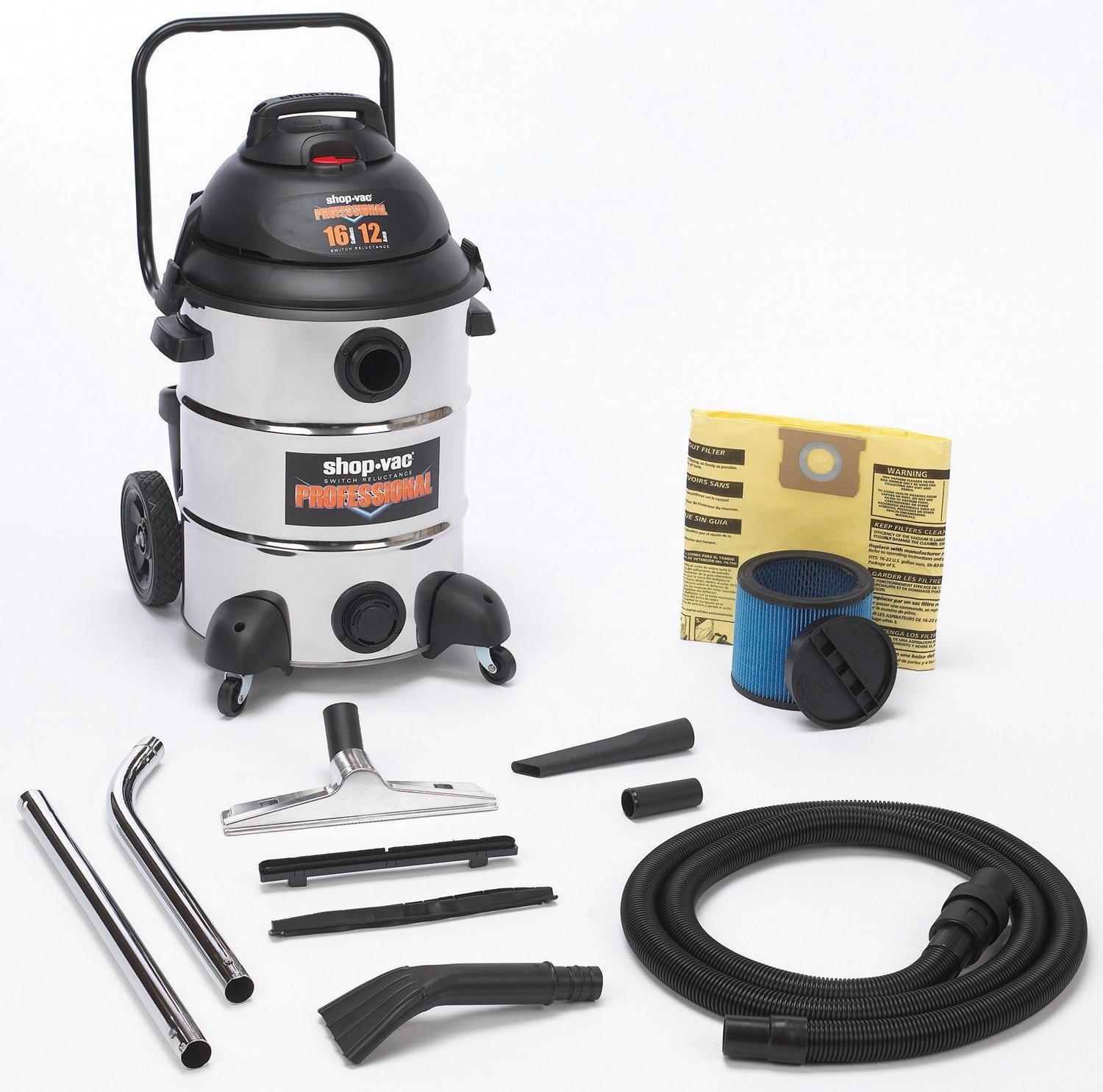 Shop-Vac 9541610 Shop-Vac Professional Stainless Steel Vacuum by Shop-Vac (Image #1)