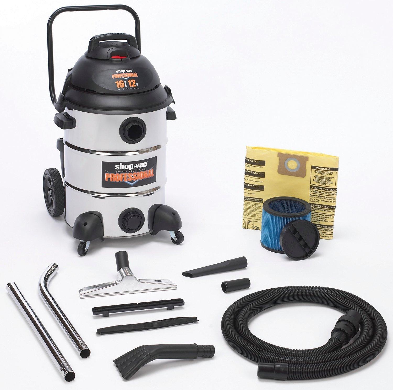 Shop-Vac 9541610 Shop-Vac Professional Stainless Steel Vacuum
