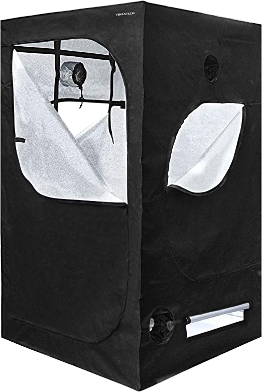 "YINTATECH 48""x48""x80"" Plant Grow Tent - Comes with a Lot of Accessories"