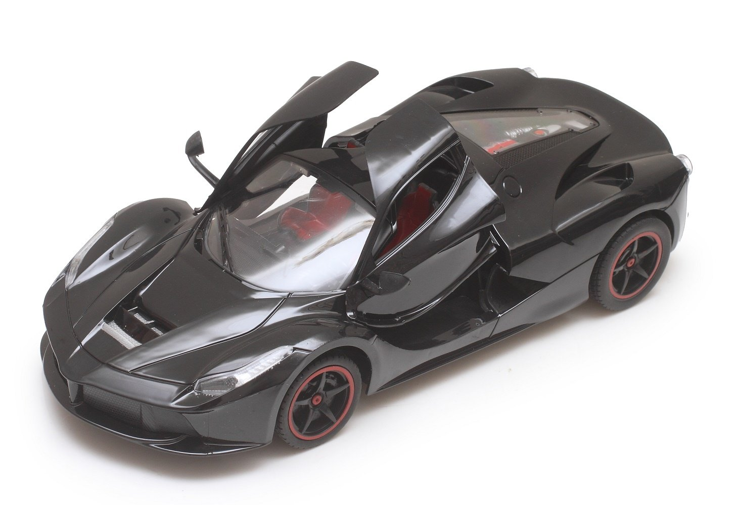 Buy The Flyers Bay Rechargeable Ferrari Style RC Car With Fully Function Doors Black Online At Low Prices In India