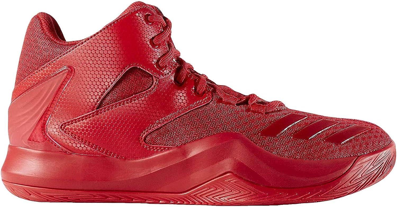 adidas D Rose 773 V, Chaussures de Basketball Homme Écarlate