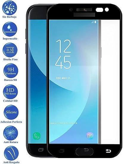 Todotumovil Protector de Pantalla Samsung Galaxy J5 2017 Negro ...