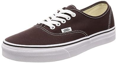 18af04de66b Vans Authentic Chocolate Torte True White Sneaker 10 Mens