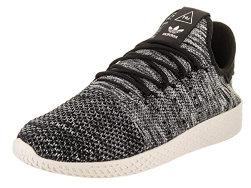 55b6fa7a2 Adidas Originals Pharrell Williams Tennis HU Pimeknit Shoe Men s Casual 14  Chalk White-Core Black