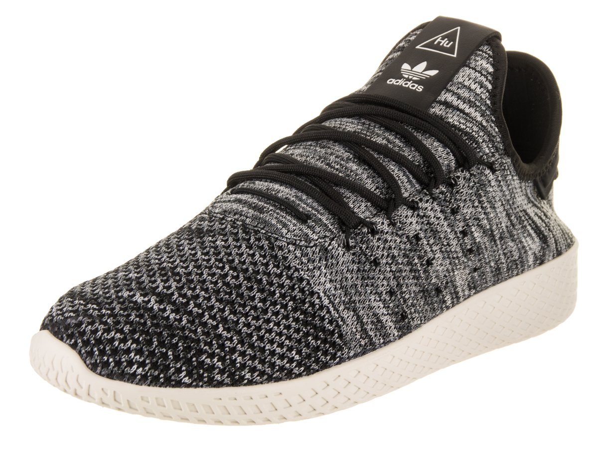 18b58229b Galleon - Adidas Men s Pharrell Williams Tennis HU PK Originals Chalk White Core  Black Running White Tennis Shoe 8 Men US