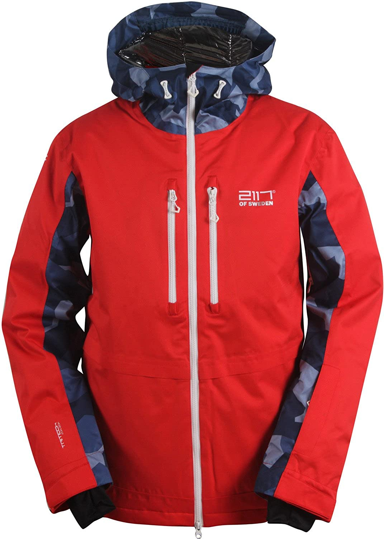 Pullover ski jacket mens