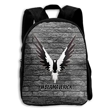 Image Unavailable. Image not available for. Color  CMJJJR4 Black And White  Logan-paul-Maverick 3D Kids Customized Backpack School Bags 2ab9ede3e390c