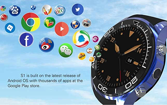 3G Gsm Wcdma Smart Watch SIM Card Bluetooth Smart Watches App Sync Phone Heart-rate Monitor Sport Pedometer WristWatch Android Phone For Android IOS ...