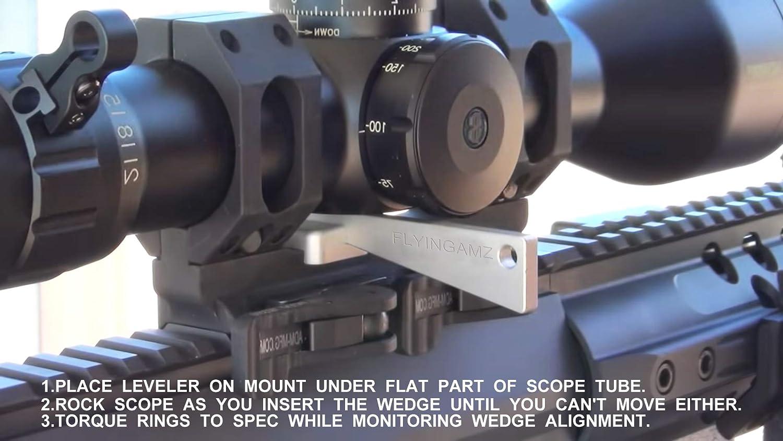 NEW Optic Leveler Combo Arisaka Defense Tool Kit Rifle Scope Fine Adjustment