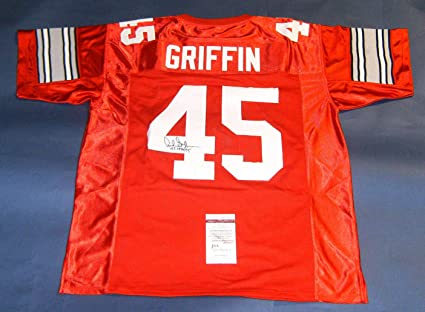 newest collection 29494 6ed17 ARCHIE GRIFFIN AUTOGRAPHED OHIO STATE BUCKEYES OSU JERSEY ...