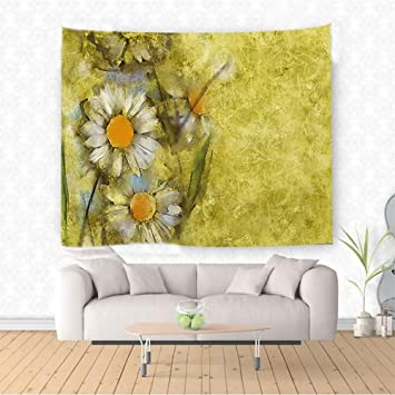 Amazon.com: Nalahome Watercolor Flower Chamomile Apple Motif Herbal ...
