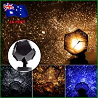 KINGSO 3 Colors Astro Star Sky Laser Projector Romantic Cosmos Night Lamp Xmas Gift