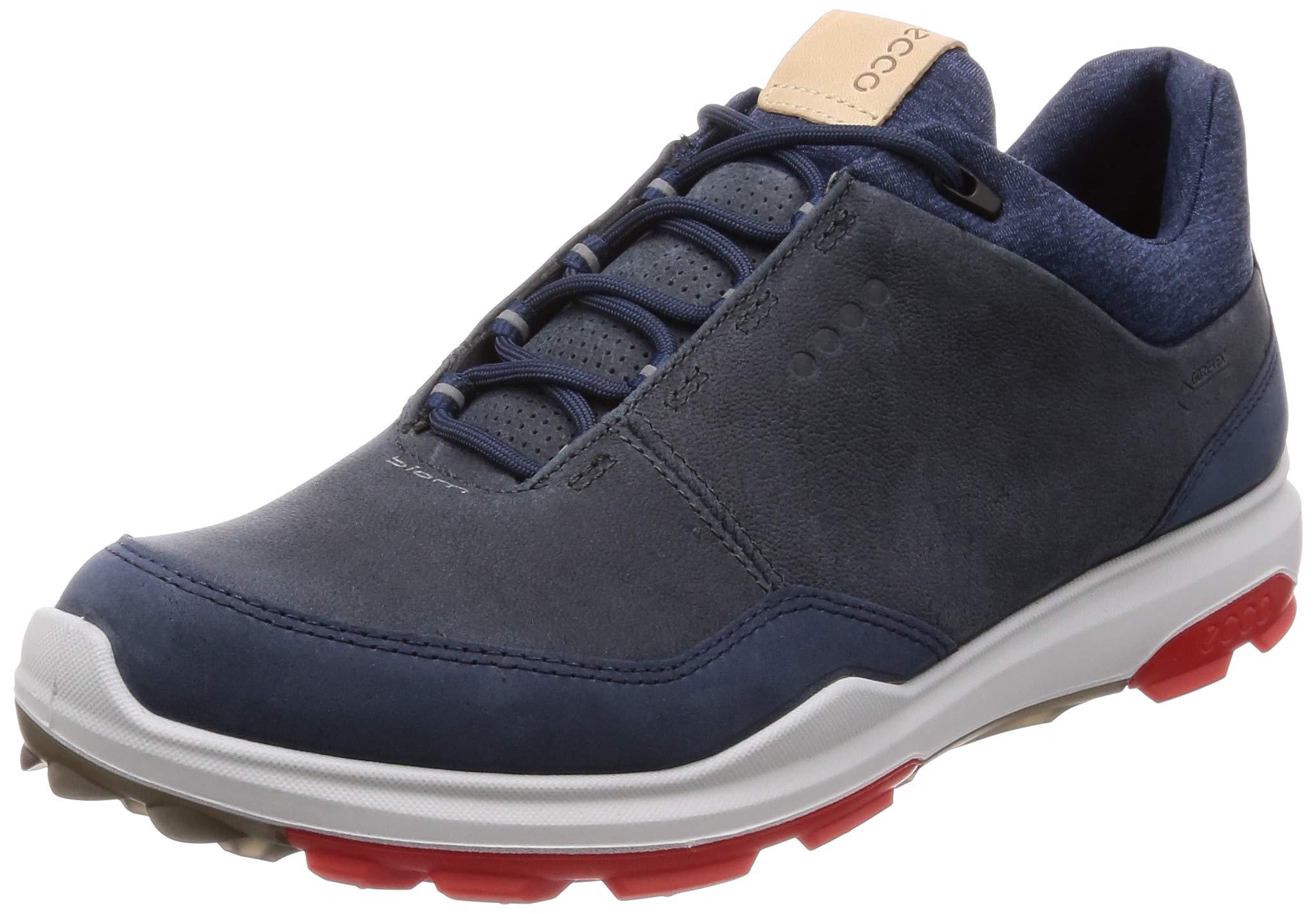 ECCO Men's Biom Hybrid 3 Gore-TEX Golf Shoe, Ombre Yak Nubuck, 6 M US by ECCO