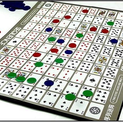 guoxuEE Juego de Juegos de Cartas de la Secuencia Juegos de ...