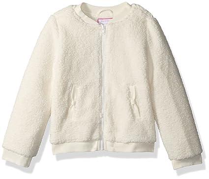 4cfae6868 Amazon.com  Gymboree Girls  Toddler Fuzzy Bomber Jacket  Clothing