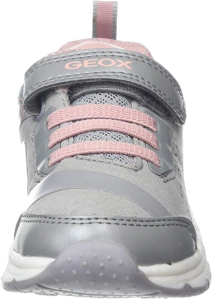Geox J Spaceclub Girl C, Scarpe da Ginnastica Bambina