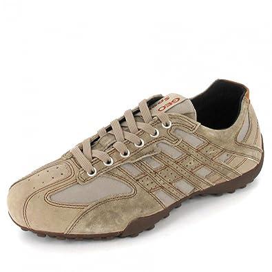 Geox U6207D Snake Sand Sabbia Scarpe Uomo Sportive Sneakers Pelle   Amazon.it  Scarpe e borse a878d97eda0