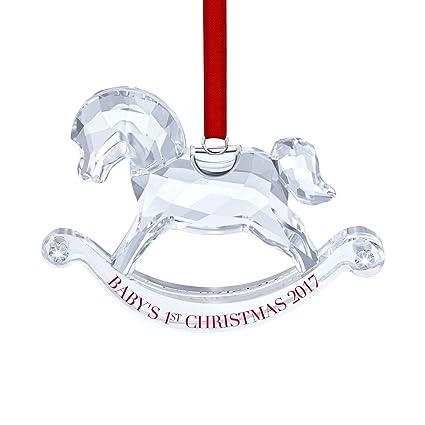 swarovski babys 1st christmas ornament