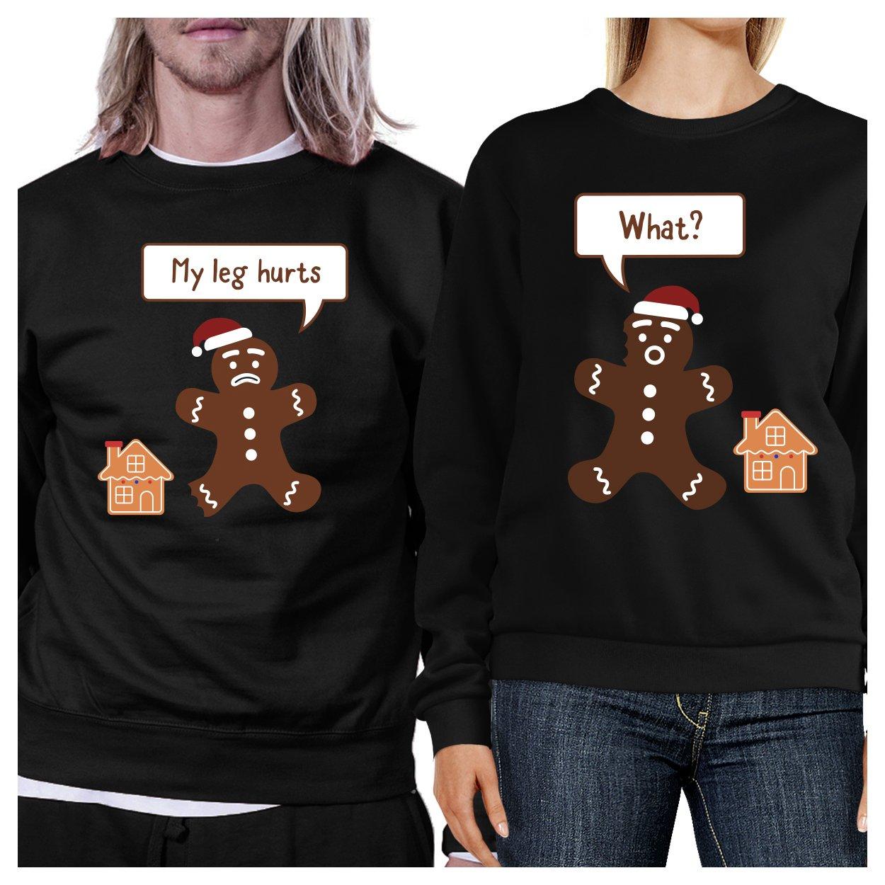 365 Printing Christmas Couple Sweatshirt Holiday Gift Ideas Pullover Fleece 365 Printing inc SS_01_COUPLE_CHRISTMAS