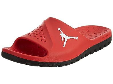 3f9f3f57298e8 Nike Mens Jordan Super Fly Team Slide University Red/Black/White 9 ...