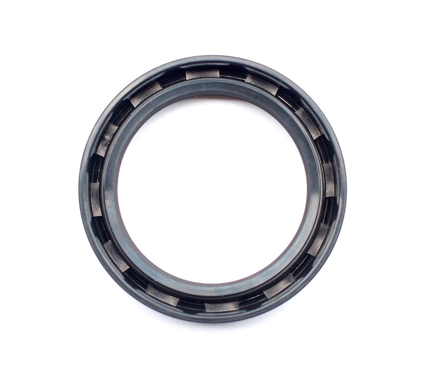 Oil Seal 45X62X10 Oil Seal Grease Seal TC |EAI Double Lip w//Garter Spring 1.772x2.441x0.394 Single Metal Case w//Nitrile Rubber Coating 45mmX62mmX10mm