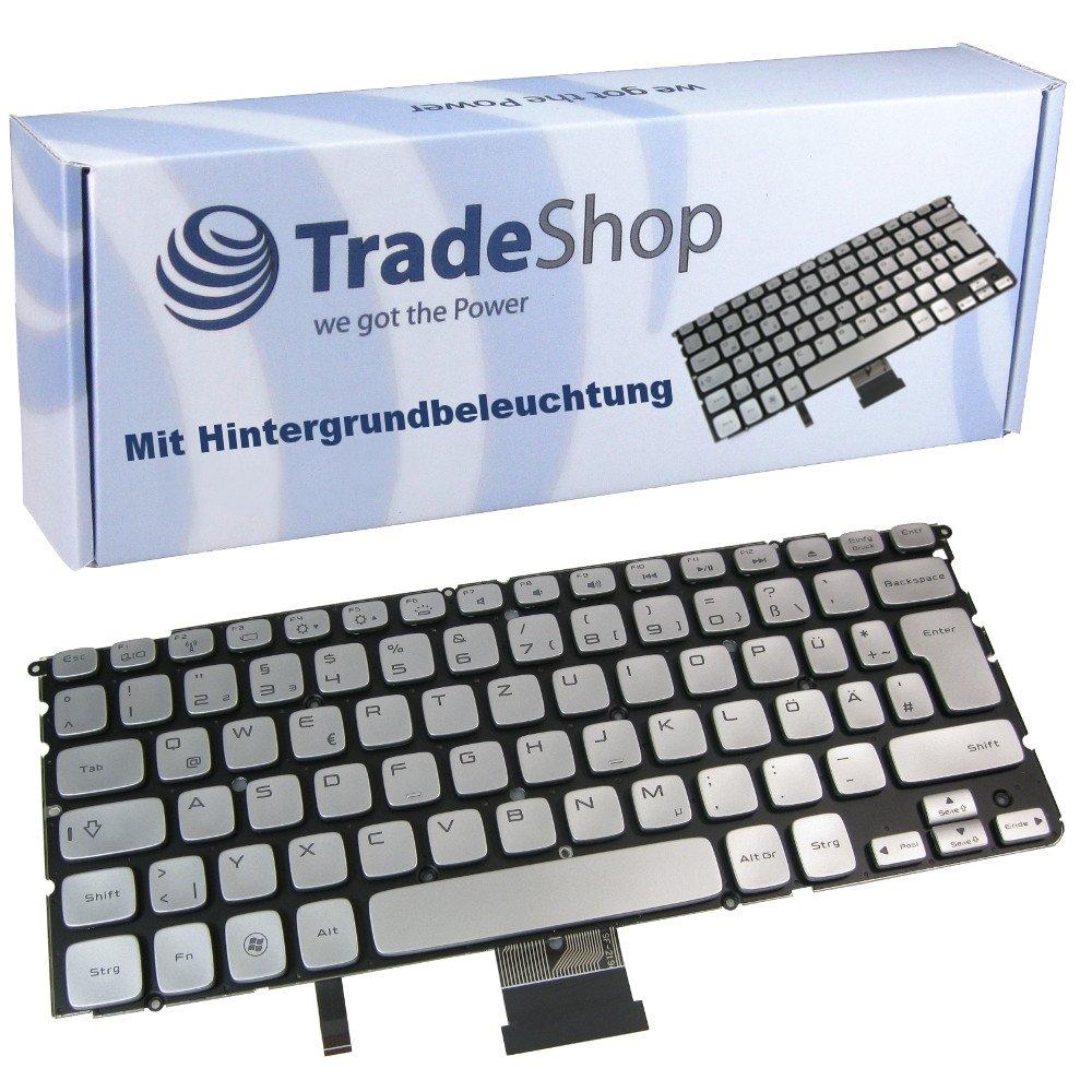 Deutsches Tastaturlayout Notebook Keyboard Deutsch QWERTZ ersetzt Dell XPS 14Z 15Z L412Z MP-10K86D0J9201 PK130JN1A11 SS8 yc3p4 L511Z L512Z Original Tastatur mit Hintergrundbeleuchtung