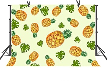 15x10ft Background Fruit Pineapple Photography Backdrop Photo Booth Props LLFU100