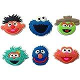 Sesame Street Shoe Charms 6 Pcs Set #2 by Atlantis USA