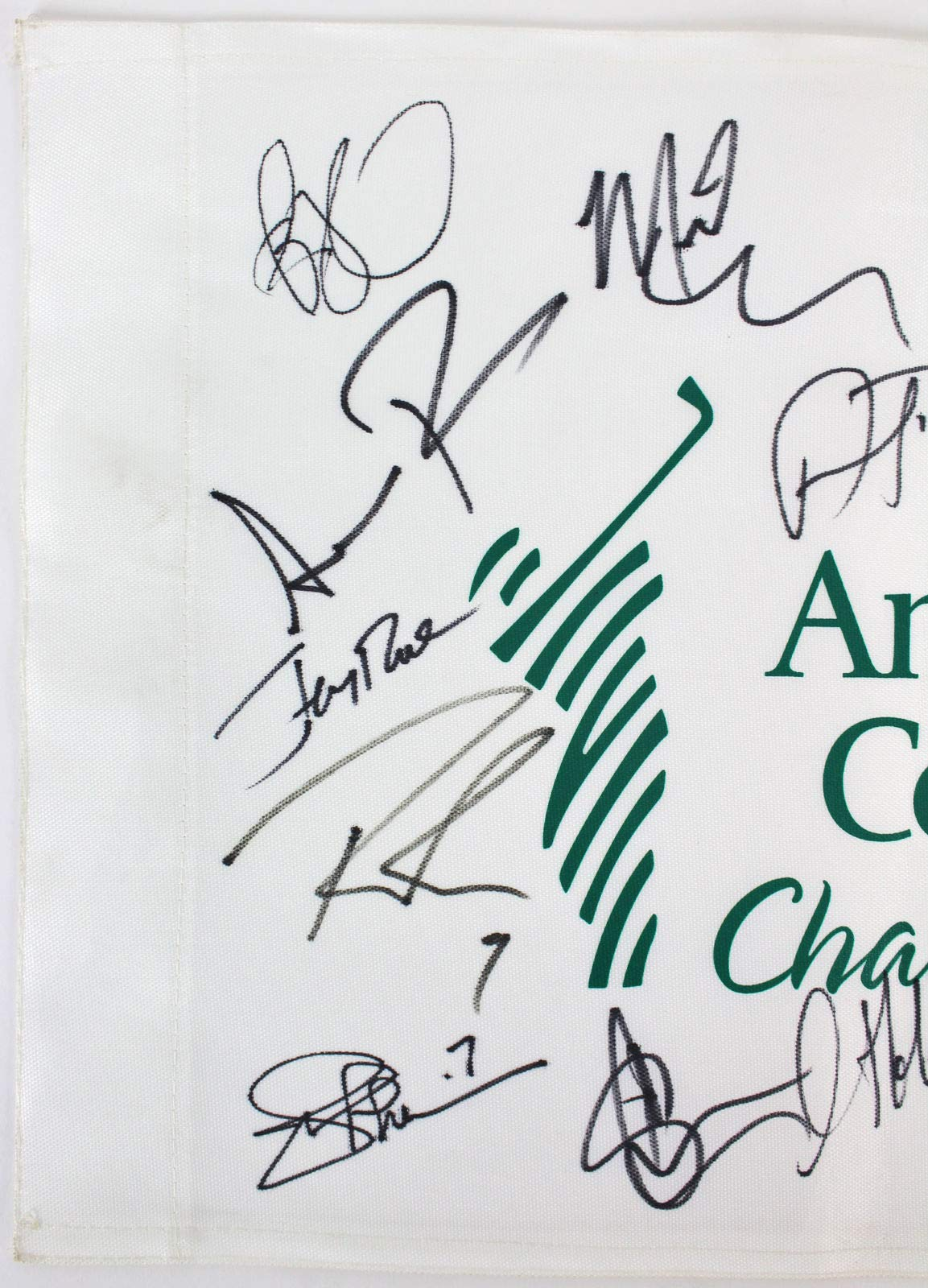 American Century 17 Romo Rice Bettis Pederson Autographed Signed Memorabilia Pin Flag Beckett #A88337