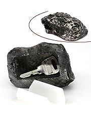 MIONI Key Box Rock Hidden Hide In Stone Security Safe Storage Hiding Outdoor Garden Durable Quality
