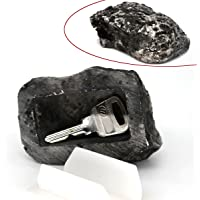 MIONI Hide-a-Spare-Key Fake Rock - Looks & Feels Like Real Stone - Safe for Outdoor Garden Or Yard, Geocaching