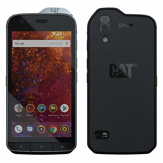 new concept 7aed9 67a73 CAT Phones S61 Rugged IP69 Waterproof, Military Standard MIL SPEC 810G  Smartphone 4+64G Dual SIM Factory Unlocked 4G LTE