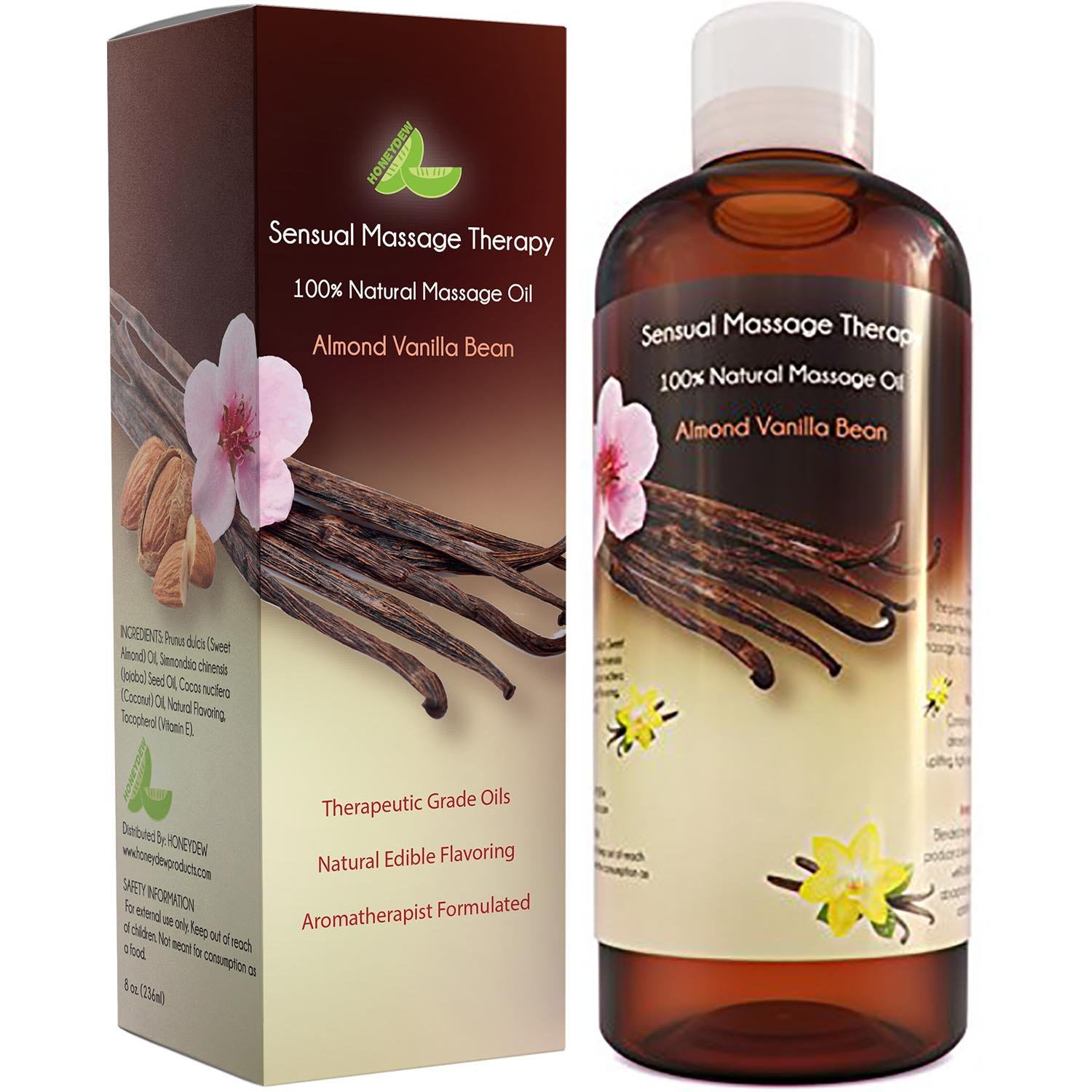 amazon com vanilla bean sweet almond oil extract sensual