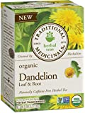Traditional Medicinals Organic Dandelion Leaf and Root Tea, 16 Tea Bags