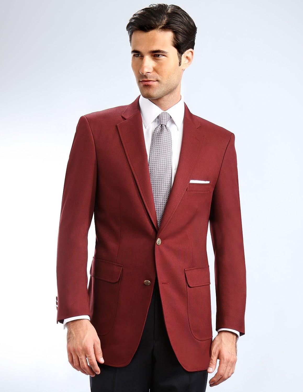 Men's Elegant Classic 2 Button Blazer Sport Jacket at Amazon Men's ...