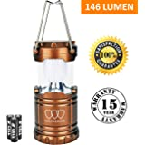 LED Lantern - Camping Lantern - Camping Equipment Lights - for Hiking, Emergencies, Hurricanes, Outages, Storms, Camping - Best Gift Ideas