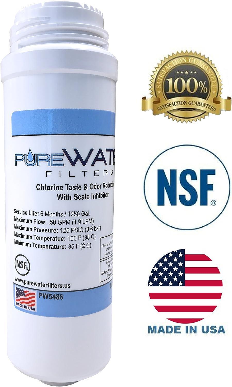 PureWater Replacement Water Filter Cartridge for Keurig B150//K150 B155//K155 B...