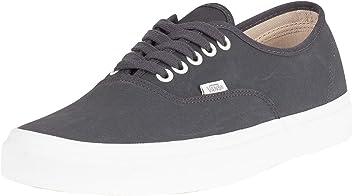 2a8646da60fde Vans Authentic (Vansbuck) Asphalt/Blanc Skateboard Sneakers VN0A38EMU4A