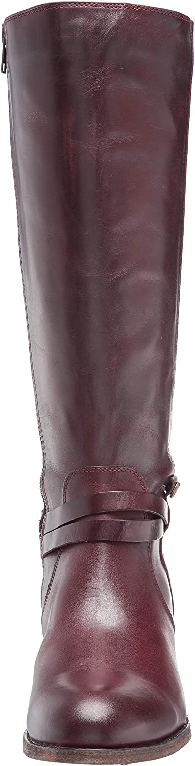 Frye Womens Melissa Belted Tall Knee High Boot