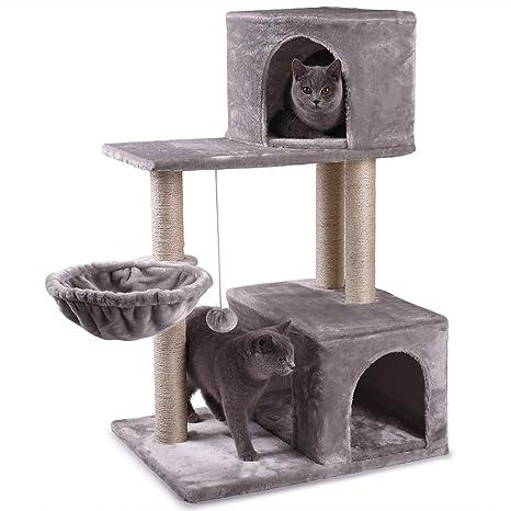 Amazon.com: NOVA JUNS Árbol de gato, Torre de gato con ...