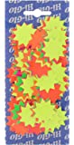 Hi-Glo 32mm Fluorescent Card Stars (Pack of 150)