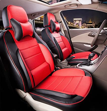 Amazon Com Deluxe Leather Car Seat Covers Supports Set For Lexus