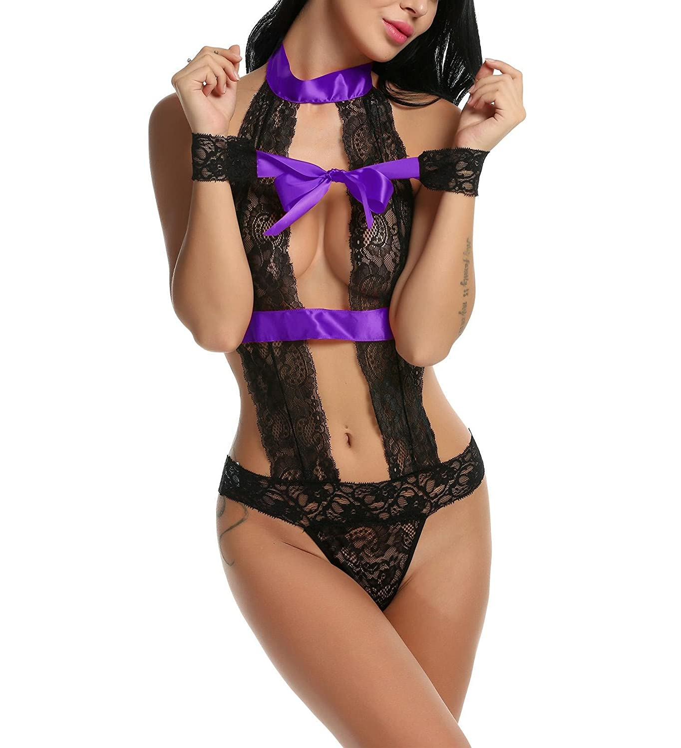 Design This halter sexy lingerie include an unlined hollow floral lace  bralette ffe86eed8