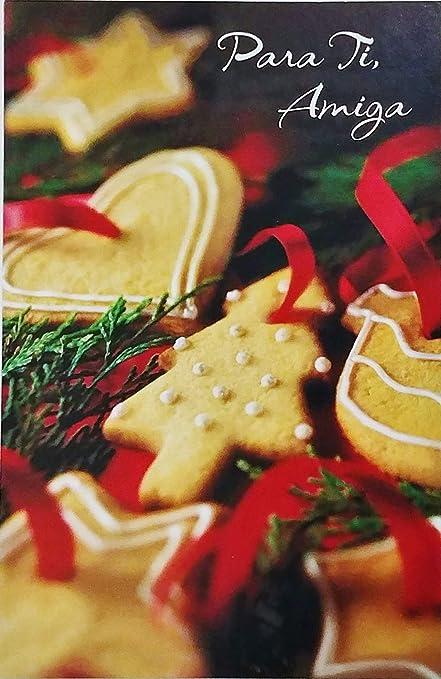 Christmas Wishes In Spanish.Amazon Com Para Ti Amiga Feliz Navidad Merry Christmas