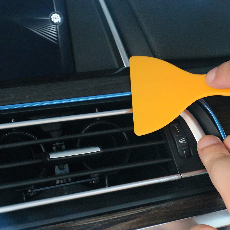 blue Car Interior DIY Automobile Motor Exterior,5M Flexible Trim For DIY Automobile Car Interior Exterior Moulding Trim Decorative Line Strip