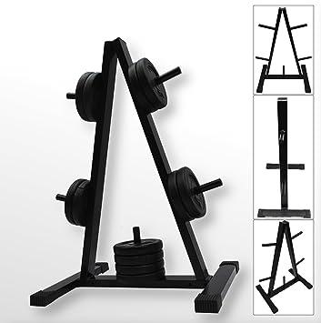 "BodyRip – 1 ""rack estándar de peso para pesas Plato de discos Soporte Árbol"